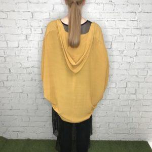 Hooded Kimono Jacket - C.Reed