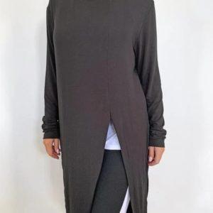 Split Angle Tee Long Sleeve - C.REED