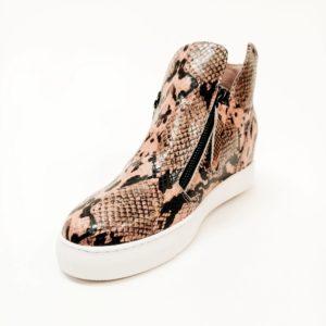 Willott Boot - Blush Python