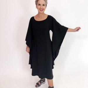 Butterfly Dress - Black - C.Reed
