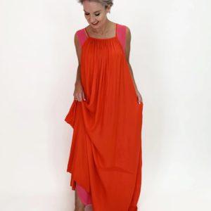 BBQ Dress - Tangerine - C.Reed