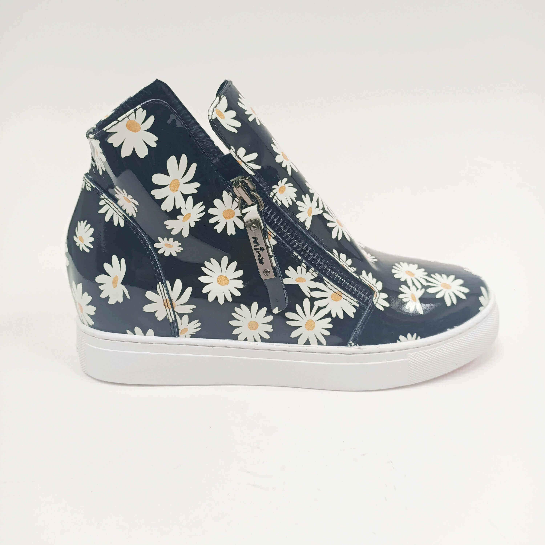 Willott Boot - Black Daisy - Minx