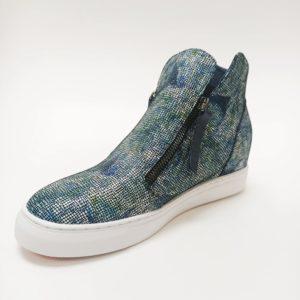 Willott Boot - Cobalt Rose Mosaic - Minx